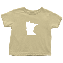 Minnesota Toddler Tee in Yellow