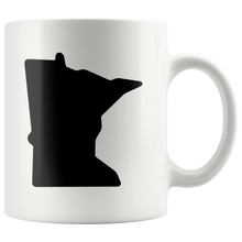 Minnesota Mug in White