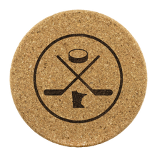 Minnesota Hockey Cork Coasters