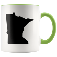 Minnesota Accent Mug in Green