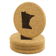 Minnesota Cork Coasters