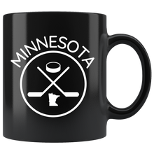 Minnesota Hockey Mug in Black