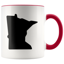 Minnesota Accent Mug in Red