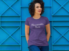 Minnesota Tee in Purple