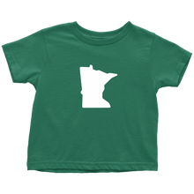 Minnesota Toddler Tee in Green