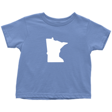 Minnesota Toddler Tee in Baby Blue
