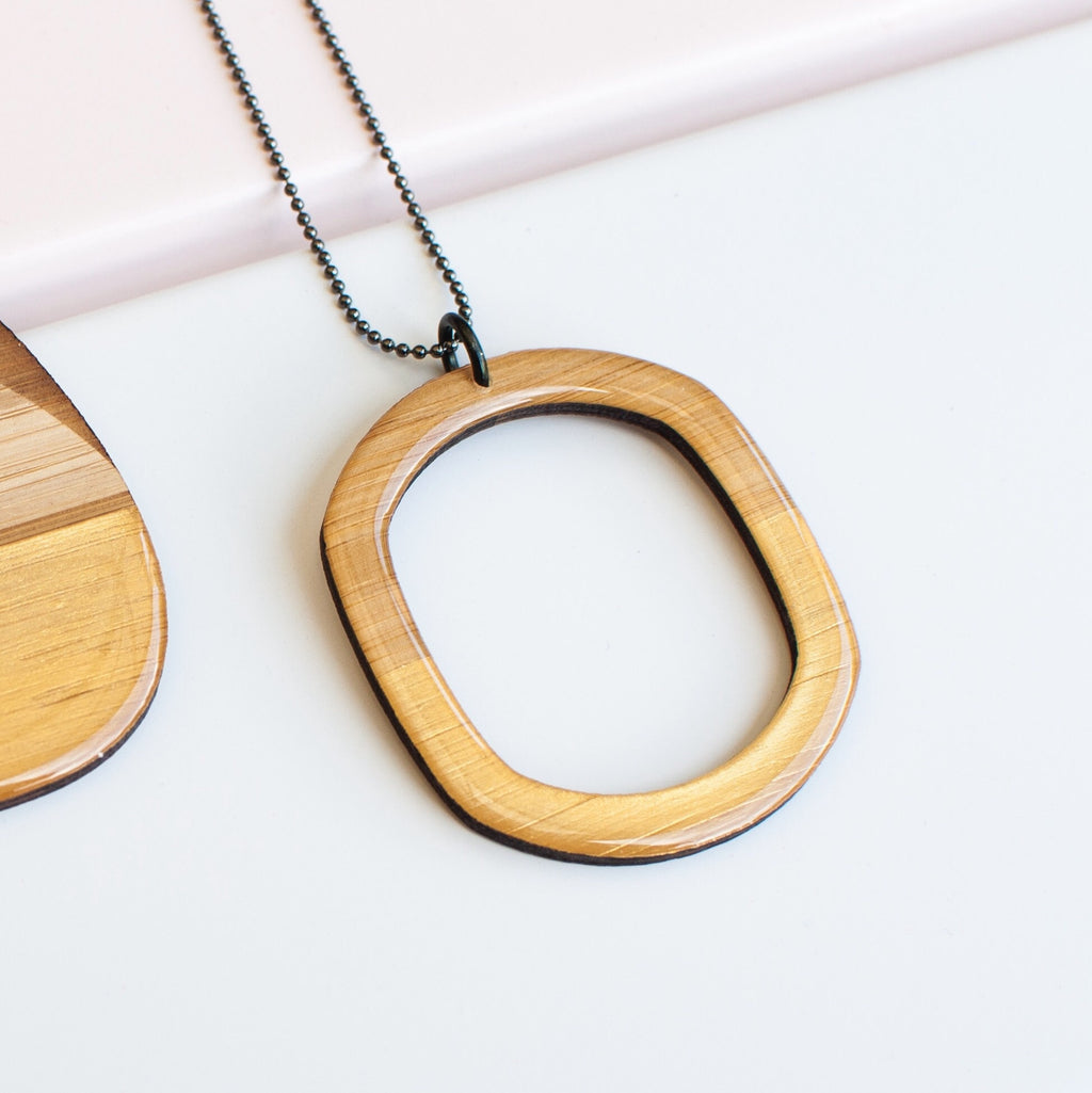 Hoop necklace - VARIOUS COLOURS