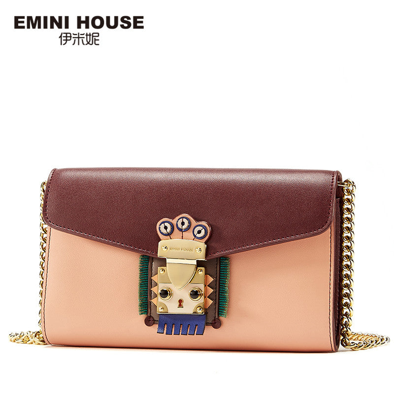EMINI HOUSE Indian Style Women Bag Leather Fashion