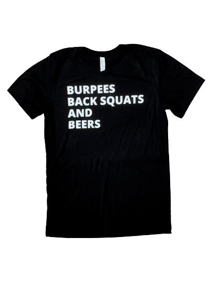 Burpees, Back Squats, & Beers