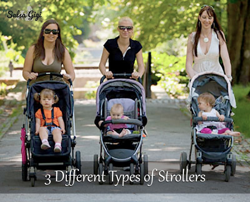 3 Different Types of Strollers and Prams