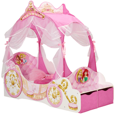 Disney Princess Carriage Toddler Bed - Salsa and Gigi