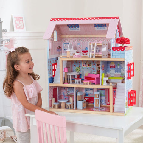 KidKraft Chelsea Dollhouse - Best Dollhouses for 2020 - Salsa and Gigi Australia