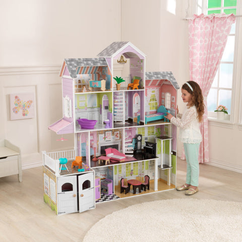 KidKraft Grand Estate Mansion Dollhouse - Best Dollhouses for 2020 - Salsa and Gigi Australia