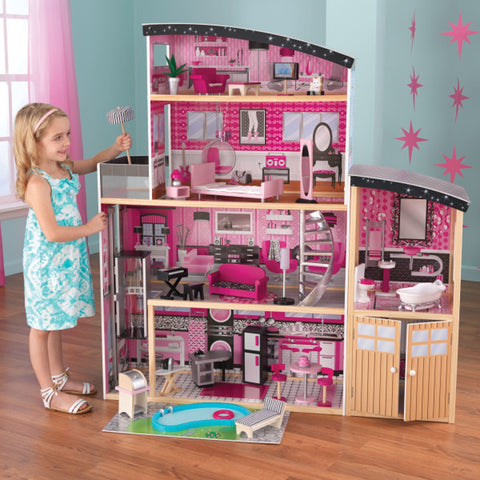 KidKraft Sparkle Mansion Dollhouse - Best Dollhouses for 2020 - Salsa and Gigi Australia
