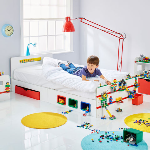 Room 2 Build Kids Single Bed with Storage by HelloHome - Salsa and Gigi Australia