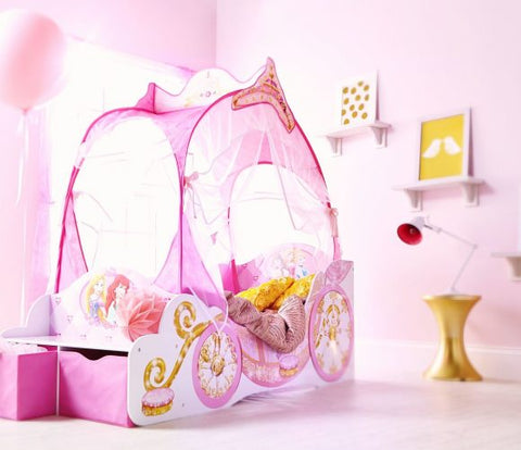 Disney Princess Carriage Toddler Bed - Worlds Apart HelloHome - Salsa and Gigi Australia