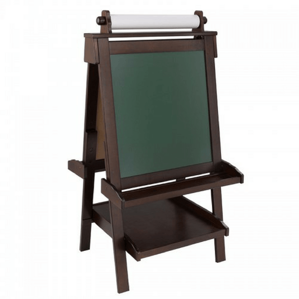 Deluxe Espresso Wooden Easel - Salsa and Gigi