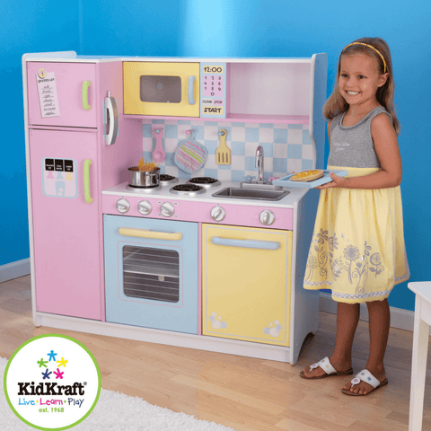 Large Pastel Kitchen - Salsa and Gigi