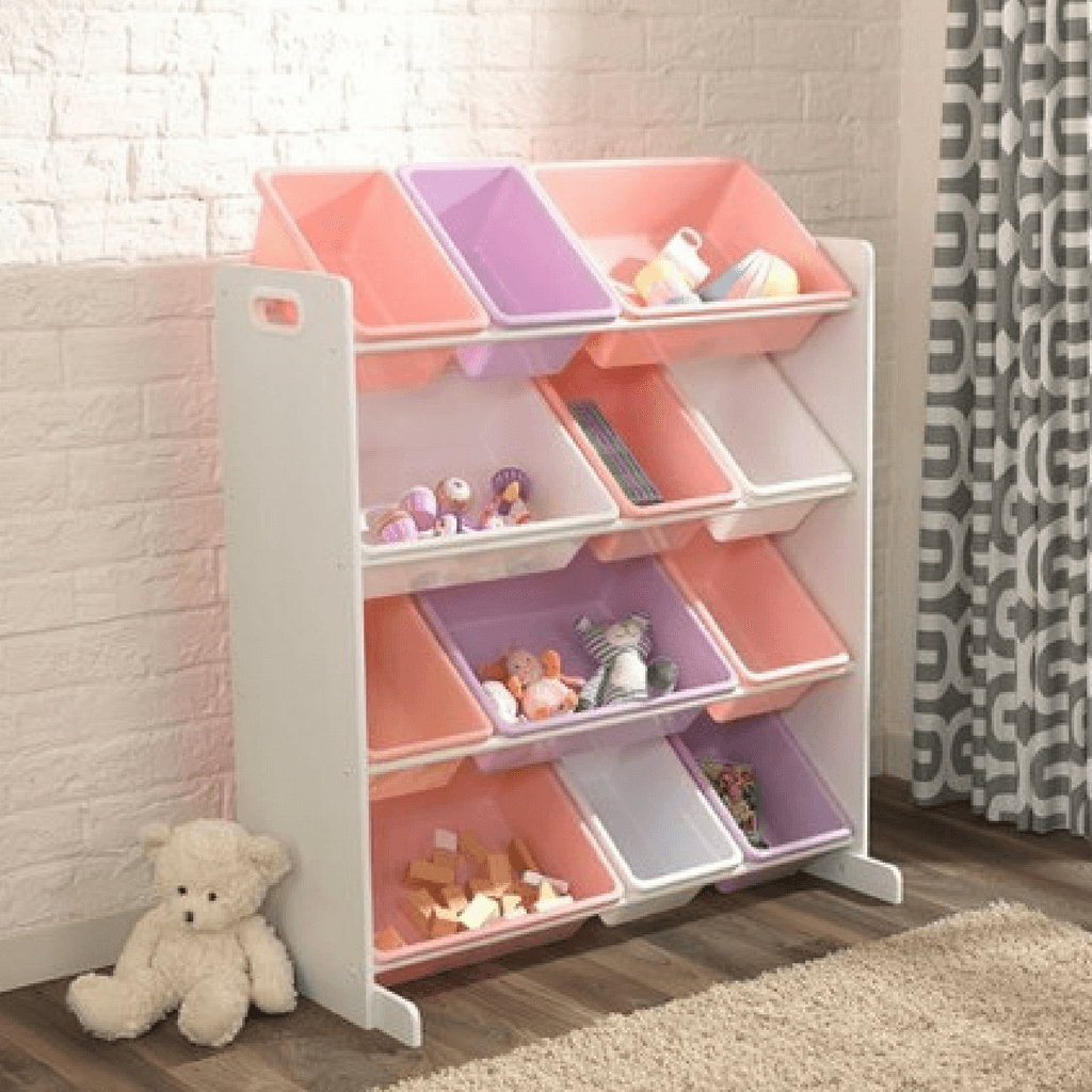 KidKraft Sort it and Store it Storage Bins Pastel - Salsa and Gigi Online Store
