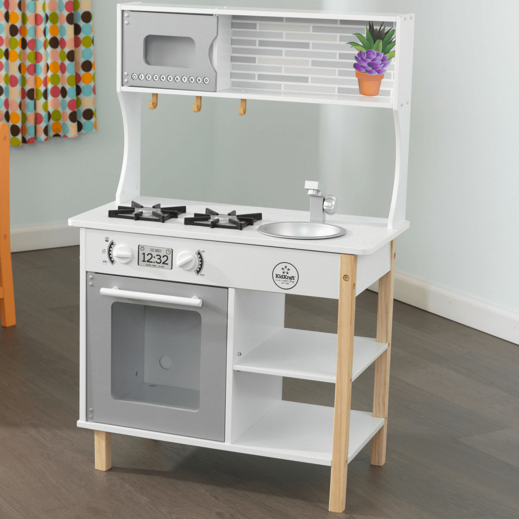 KidKraft All Time Play Kitchen incl Food 53370 - Salsa and Gigi