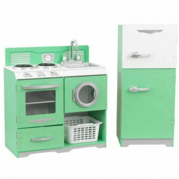 Homestyle 2 Piece Green Kitchen - Salsa and Gigi
