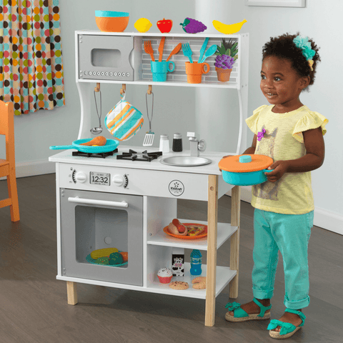 All Time Play Kitchen incl. Accessories - Salsa and Gigi