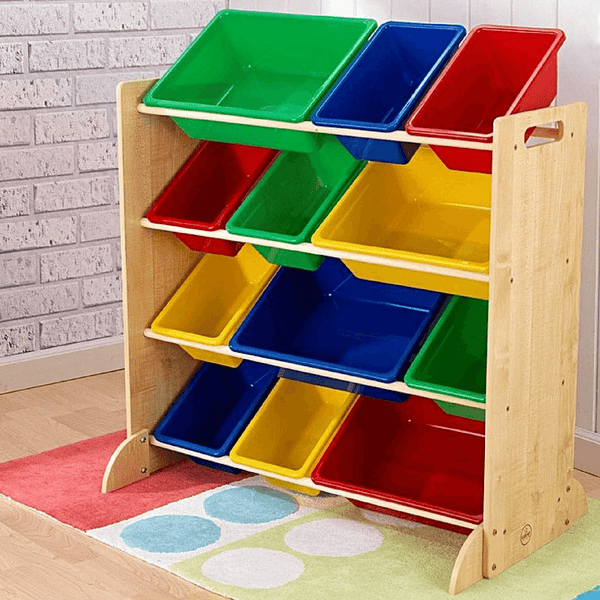KidKraft Sort it and Store it Storage Bins Primary - Salsa and Gigi Online Store
