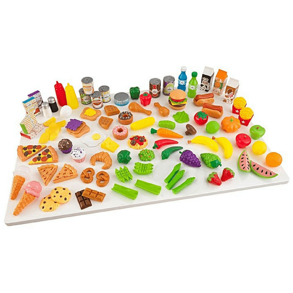 Deluxe Tasty Treat Pretend Play Food Set - Salsa and Gigi