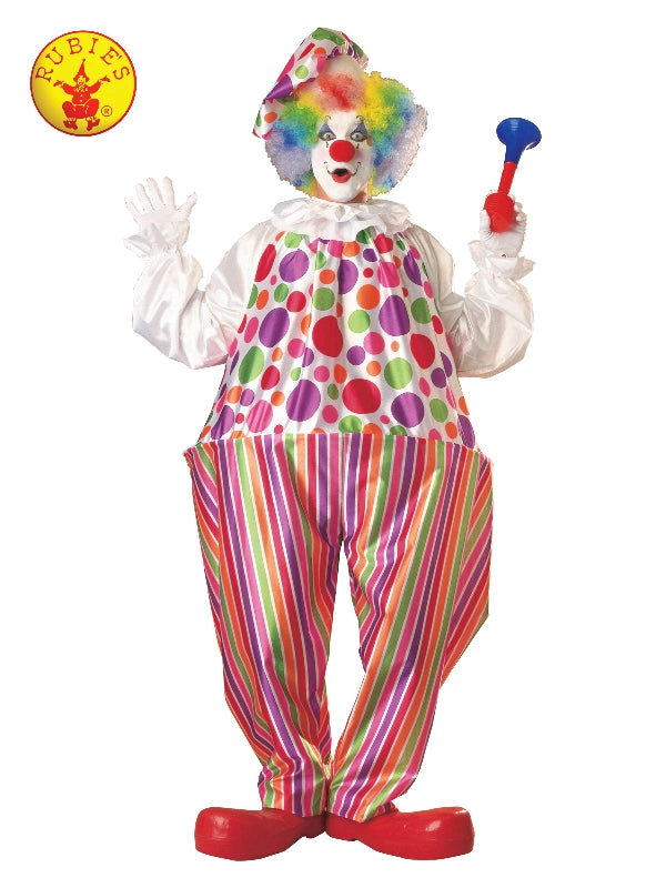 SNAZZY CLOWN COSTUME, ADULT Salsa and Gigi Australia 15346