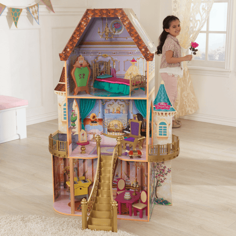 Disney Princess Belle Enchanted Dollhouse - Salsa and Gigi