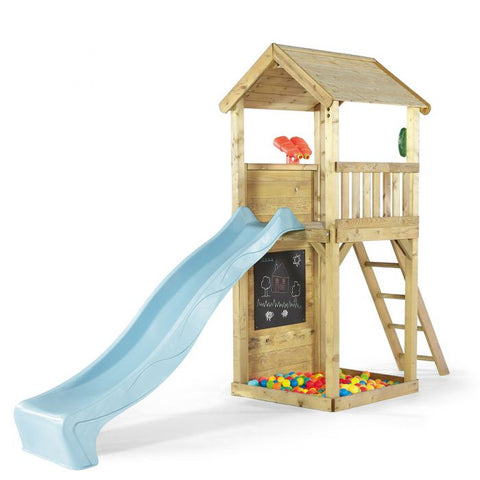 Plum Lookout Tower Play Centre without Swings - Salsa and Gigi Australia 01