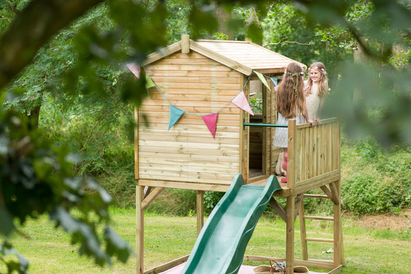 Plum® Wooden Adventure Playhouse - Salsa and Gigi Australia