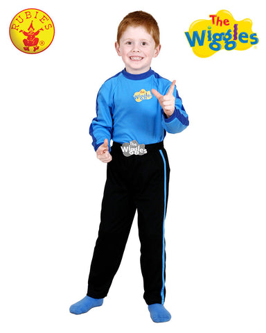 BLUE WIGGLES COSTUME - Size 2-4 - Salsa and Gigi