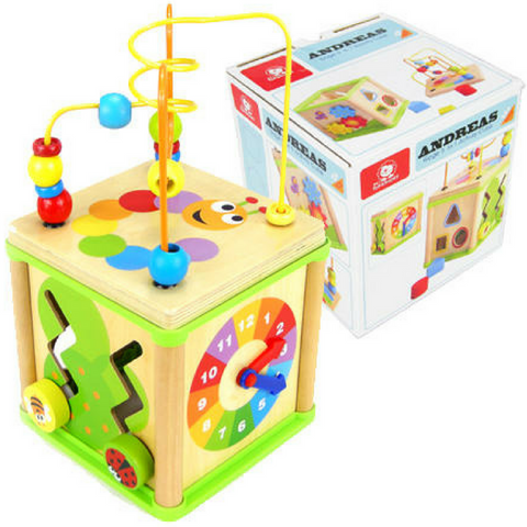 Goge 5 In 1 Activity Cube - Salsa and Gigi