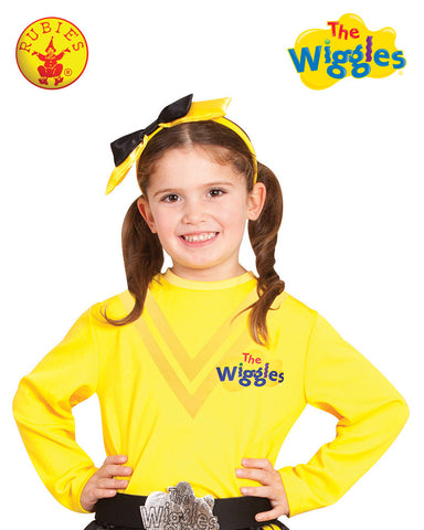 EMMA WIGGLE Girls Costume Top - Classic Yellow - Salsa and Gigi