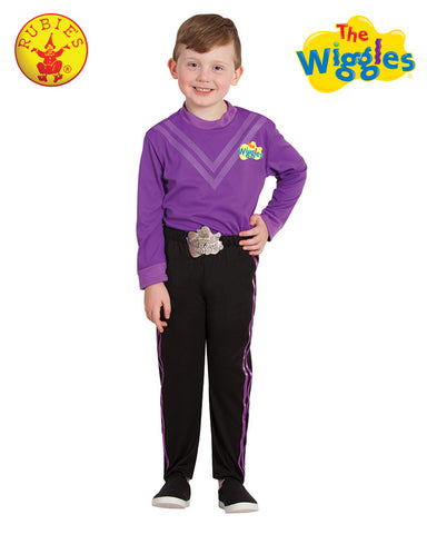 LACHY WIGGLE Deluxe Purple Child's Costume - Salsa and Gigi