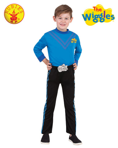 ANTHONY WIGGLE Deluxe Blue Child's Costume - Salsa and Gigi