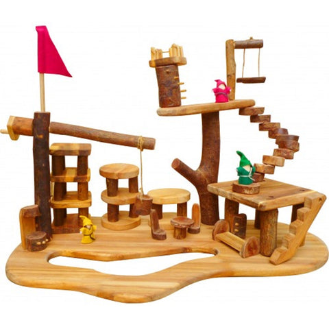 856 Wooden Tree Playhouse - Salsa and Gigi Australia 01