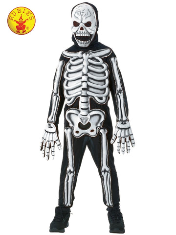 SKELETON GLOW IN THE DARK COSTUME, CHILD Salsa and Gigi Australia
