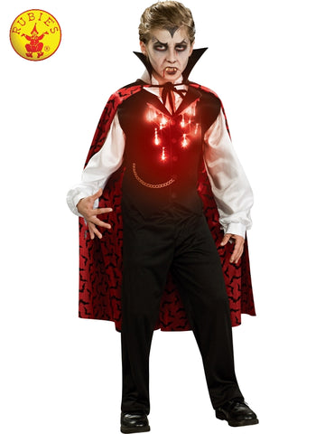 VAMPIRE LIGHT UP COSTUME, CHILD Salsa and Gigi Australia 883499