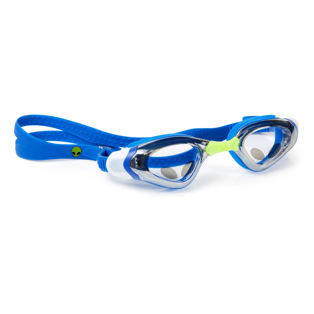 Alien - Royal Rocket Blue Boys Swim Goggles - Salsa and Gigi