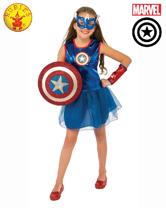 AVENGERS American Dream Tutu Dress Girls Costume - Salsa and Gigi