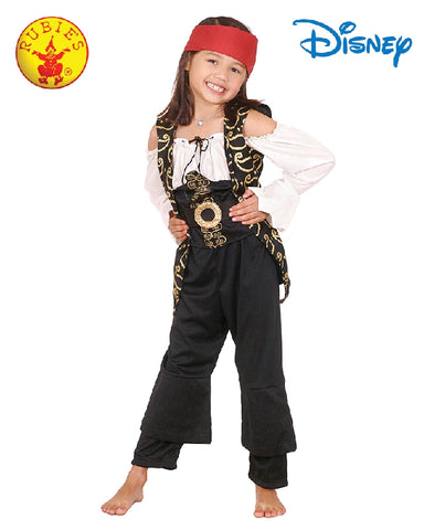 Disney Angelica Potc Deluxe Girls Pirate Costume - Size 4-6 years - Salsa and Gigi