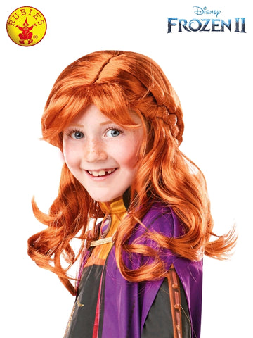 Anna Disney Frozen 2 Child Wig - Salsa and Gigi Australia 300473 01