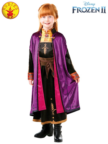 Anna Disney Frozen Deluxe Girls Costume - Salsa and Gigi Australia 9143 01