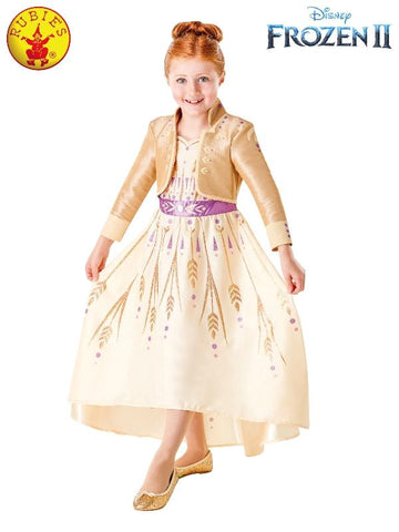 Anna Frozen 2 Prologue Girls Costume - Salsa and Gigi Australia 9127 01