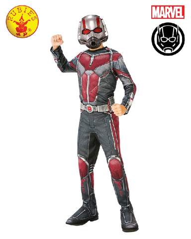 DC Superhero Ant-Man Classic Boys Costume - Size S, M, L - Salsa and Gigi