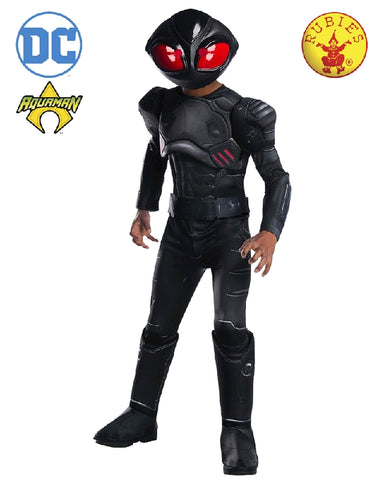 Aquaman Black Manta Deluxe Child Costume - Salsa and Gigi Australia 641367