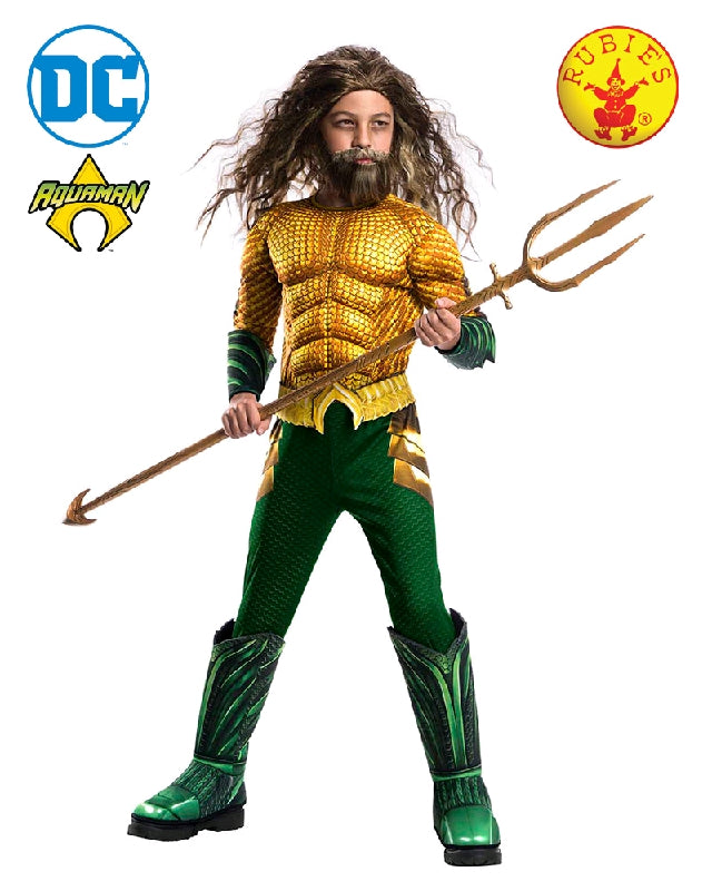 Aquaman Deluxe Child Costume - Salsa and Gigi Australia 641365