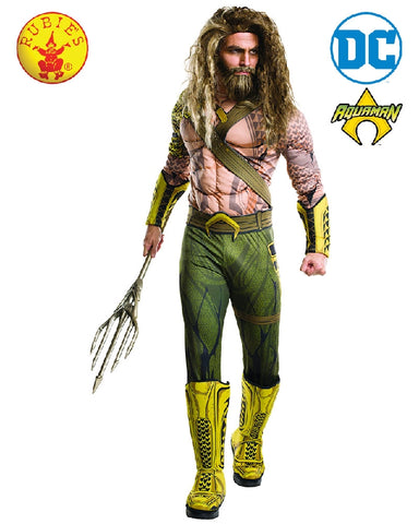 Aquaman Deluxe Men's Costume - Salsa and Gigi Australia 810928